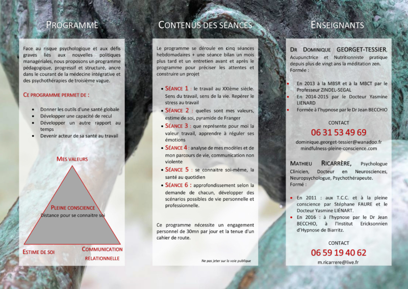 Exemple de flyer trois faces (verso)