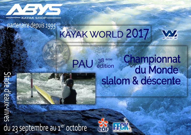 Projet affiche Abys Kayak : Championnat du monde